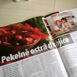 Rozhovor: Pekelně ostrá dvojice aneb chilli ženy z World of Chilli