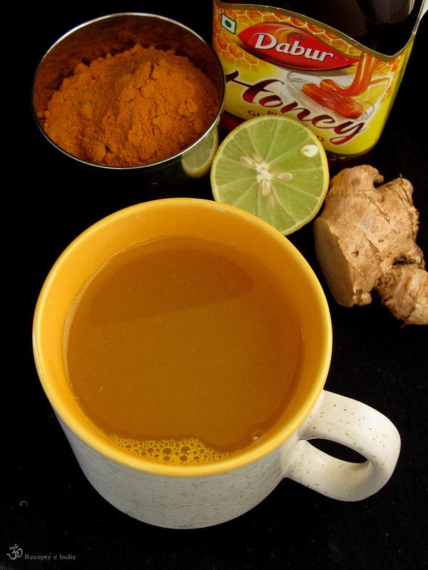 Zazvorovo - kurkumovy odvar (detoxikacny)