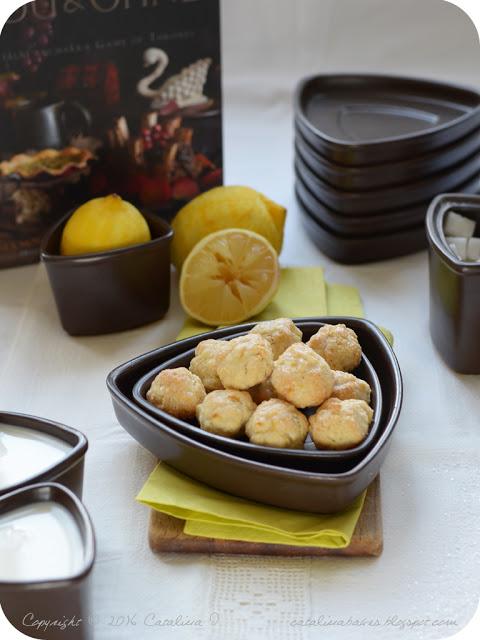 Hostina ledu a ohně: Alžbětinské citronové zákusky