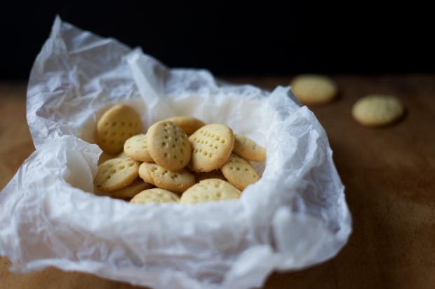 Slané máslové sušenky