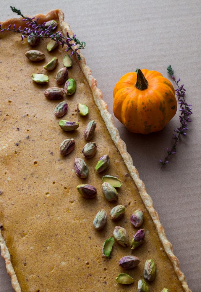 Dýňový koláč s mascarpone (Pumpkin Pie) &10 tipů, jak si poradit s křehkým těstem