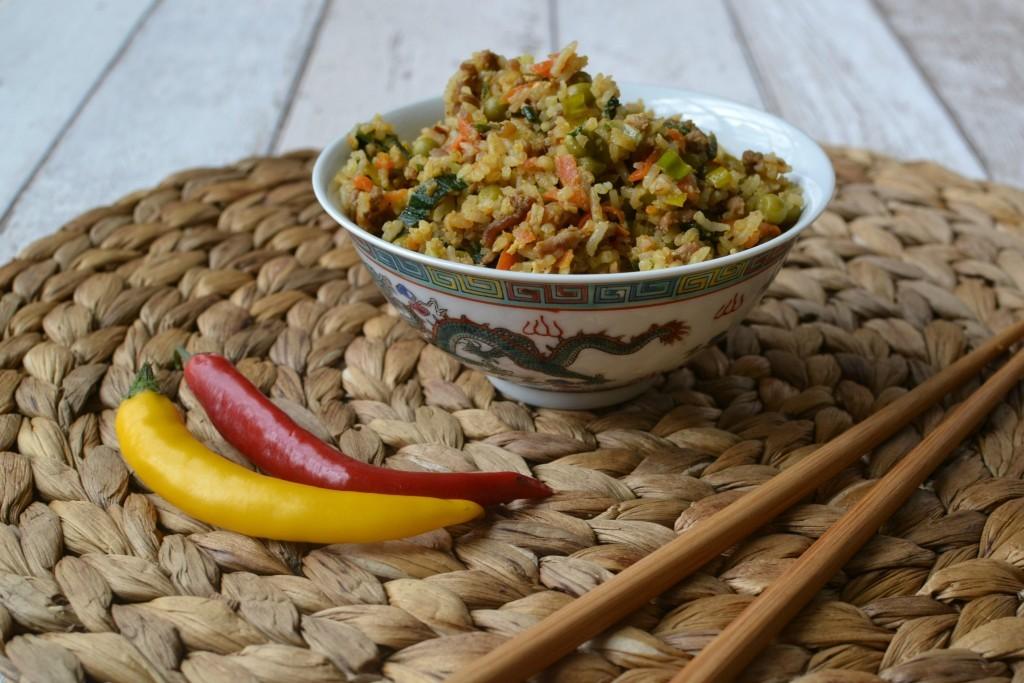 Pikantní smažená rýže