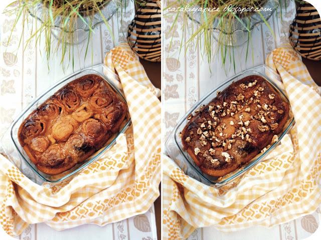 Sticky Cinnamon Buns (Lepkavé skořicové bochánky)